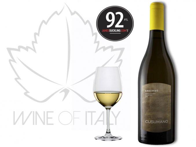 Angimbé Sicilia Bianco IGT, r. 2017, Cusumano - wineofitaly.cz