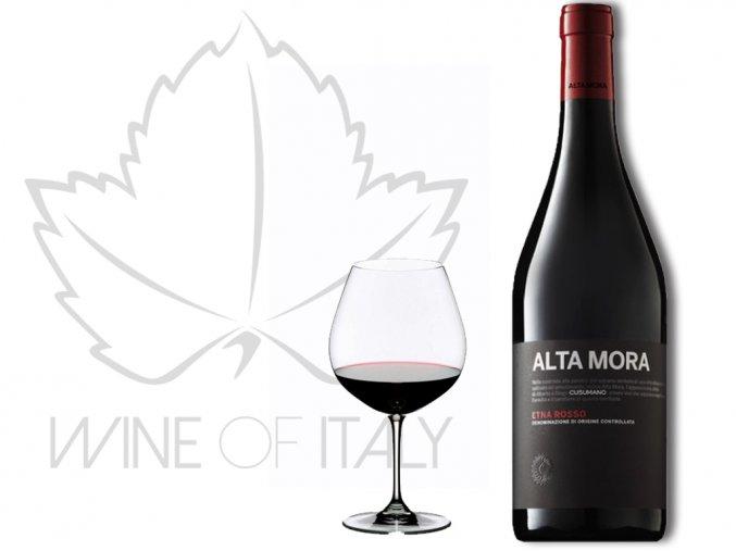 Alta Mora Etna ROSSO DOC, Cusumano - wineofitaly.cz