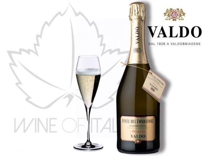 Cuvée del Fondatore Prosecco di Valdobbiadene DOCG MAGNUM (1,5 l), Valdo Spumanti - wineofitaly.cz