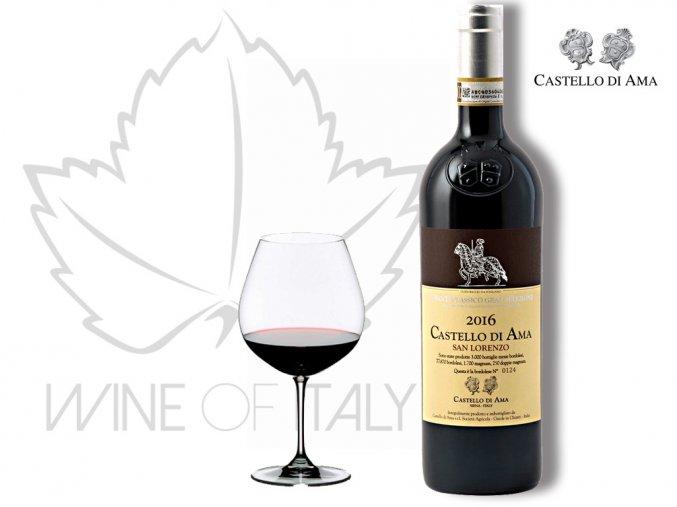 Chianti Classico San Lorenzo DOCG, r. 2014 Castello di Ama