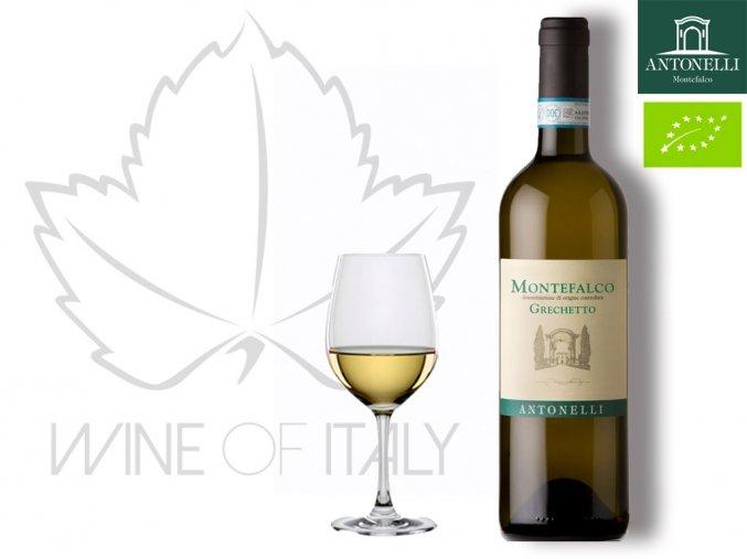 vino bianco Grechetto dei Colli Martani, Antonelli, wine of italy