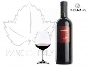 Syrah Sicilia rosso IGT, Cusumano - wineofitaly.cz