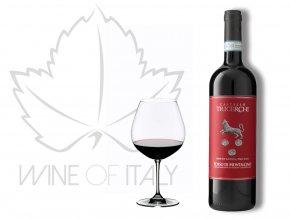 Rosso di Montalcino Tricerchi DOC Castello Tricerchi Wine of Italy