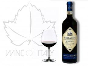 Fattoria di Basciano řada Renzo M. Chianti Riserva DOCG wine of italy