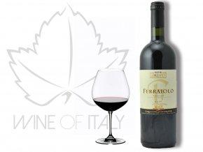 Ferraiolo Rosso di Toscana , Geografico