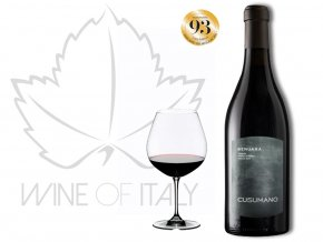 Benuara Sicilia rosso IGT, Cusumano - Sicílie, wineofitaly.cz