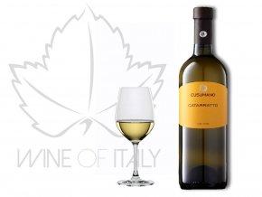 Catarratto D.O.C. - bílé víno, Cusumano - wineofitaly.cz