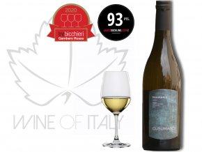 oceněné bílé víno Shamaris vinařství Cusumano Sicílie