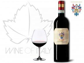 Rosso di Montalcino ROSSOFONTE DOC, r. 2014 Ciacci Piccolomini d´Aragona Wine of Italy
