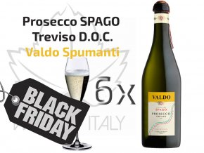 6ks Prosecco SPAGO Treviso DOC, Valdo Spumanti - wineofitaly.cz