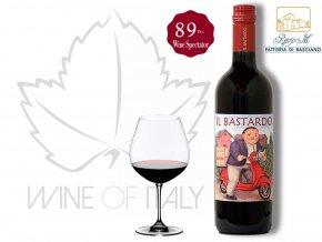 Il Bastardo Rosso Italiano _ fattoria di Basciano_Renzo M. _Wine of Italy, 88points Wine Spectator , fattoria di Basciano /Renzo Masi