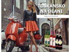 degustační bedýnka z Toskánska od Wine of Italy
