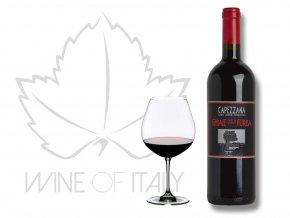 supertoskánské víno Ghiaie della Furba Rosso di Toscana IGT, Capezzana, Toskánsko, Itálie