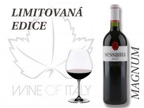 SESSANTA Rosso di Toscana IGT Magnum, 2007, limitovaná edice, Capezzana