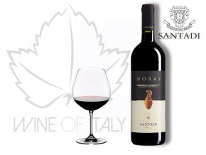 Noras Cannonau di Sardegna Rosso DOC, r. 2015, Cantina Santadi - wineofitaly.cz