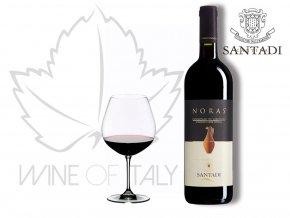 Noras Cannonau di Sardegna Rosso DOC, r. 2016, Cantina Santadi - wineofitaly.cz