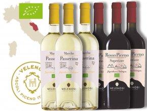 Bio vína z Itálie, Velenosi Vini degustační bedýnka od wine of italy