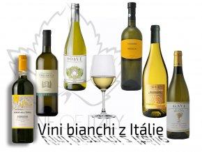 degustační bedýnka bílých vín z původních odrůd Itálie