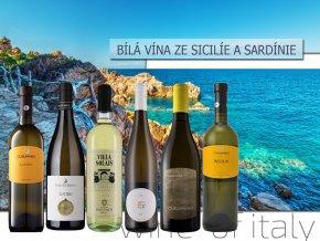 bílá vína z italských ostrovů