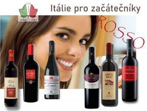 degustace itálie pro začátečníky ROSSO