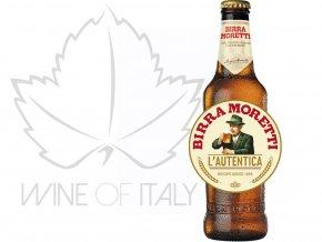 italské pivo Birra Moretti