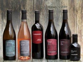 Výběr vinařství Cusumano ze Sicílie, degustační bedýnka