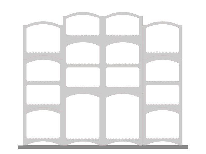 Sestava Bloc Cellier Robust white