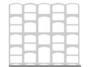 Sestava Bloc Cellier Castle white