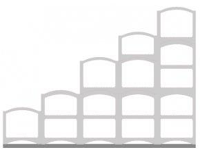 Sestava Bloc Cellier Steps white