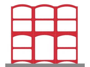 Weinregalsatz Bloc Cellier Basic - rot