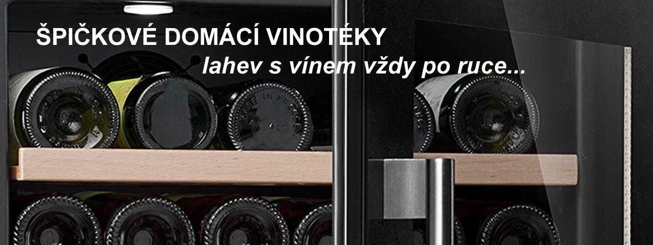 Domácí vinotéky