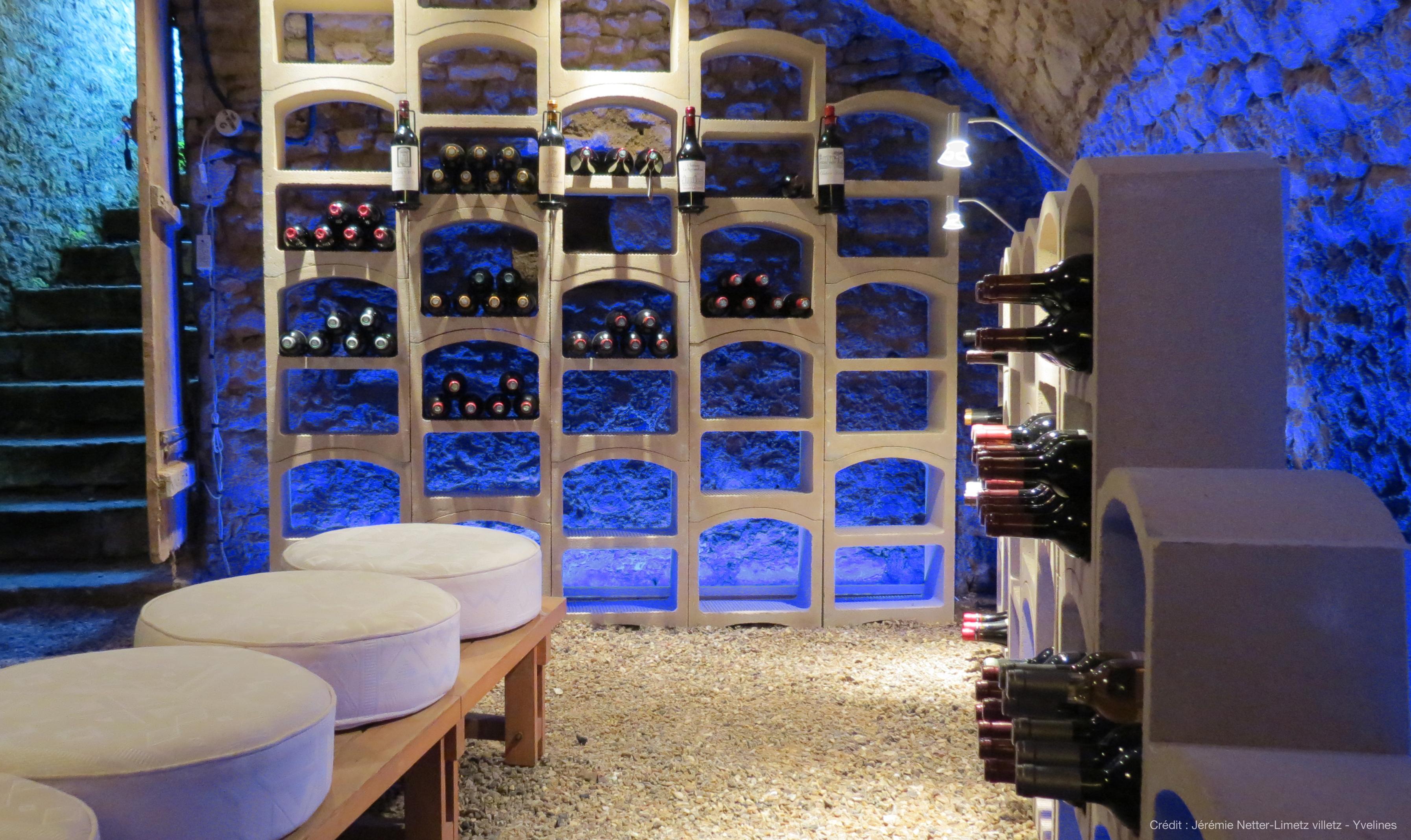 Regály na víno Bloc Cellier skladování vína