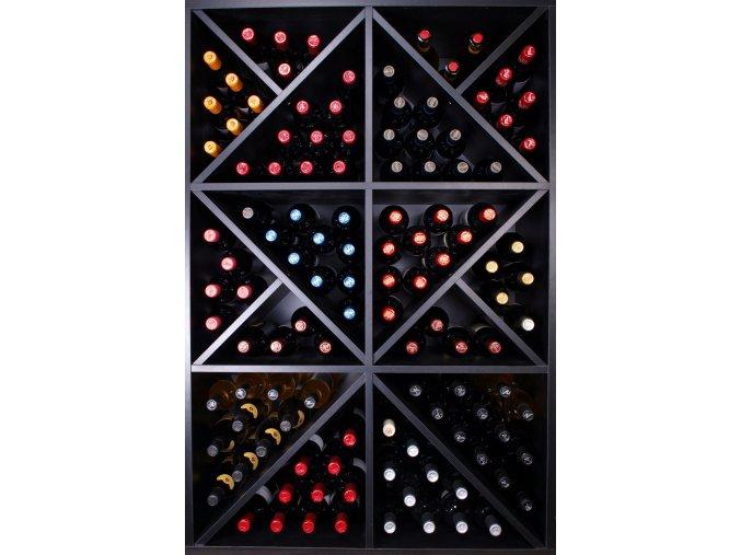 Regál na víno Merlot ROA
