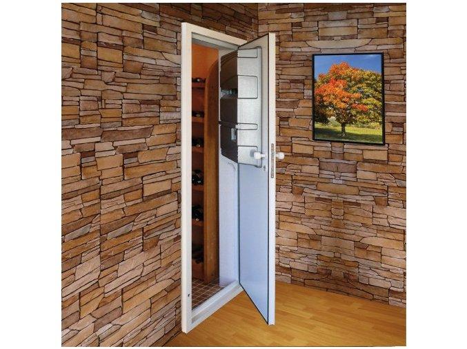 Dveře s klimatizací WINE PC15