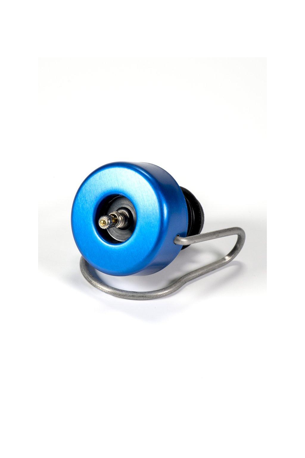 Zátka modrá lesklá