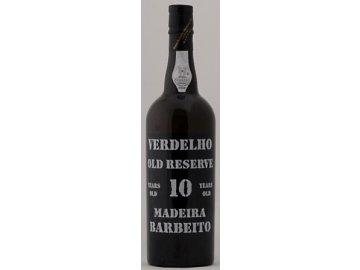 Madeira Barbeito - Madeira Verdelho 10 years old, 0,5l