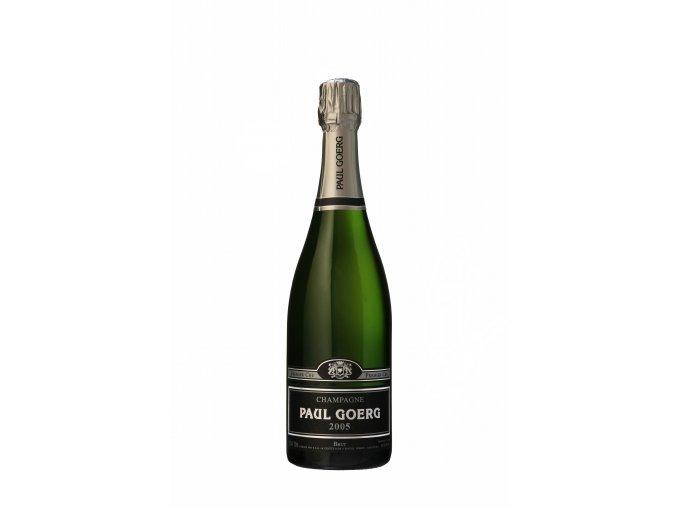 Champagne Paul Goerg Millésime 2005 détouré