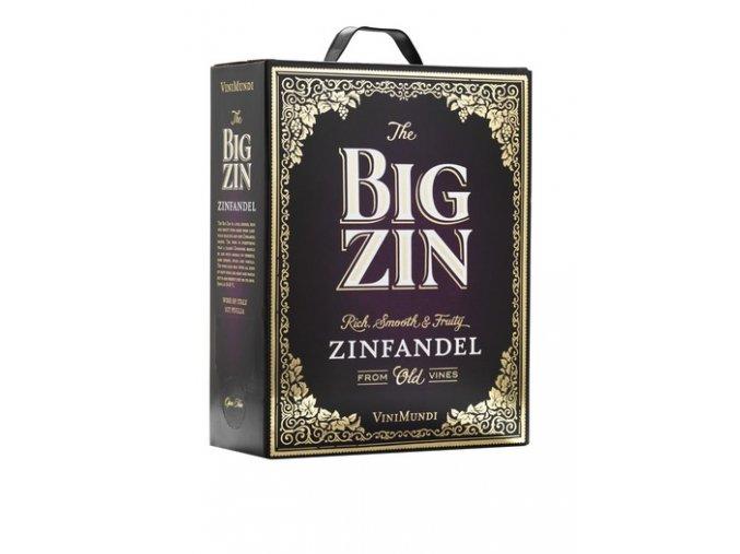 The BIG ZIN Old Vines Zinfandel BIB 3L