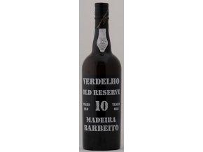 Madeira Barbeito - Madeira Verdelho 10 years old, 0,75l