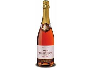 Patriarche Crémant de Bourgogne rosé 75cl haute définition