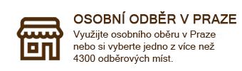 Osobní odběr v Praze