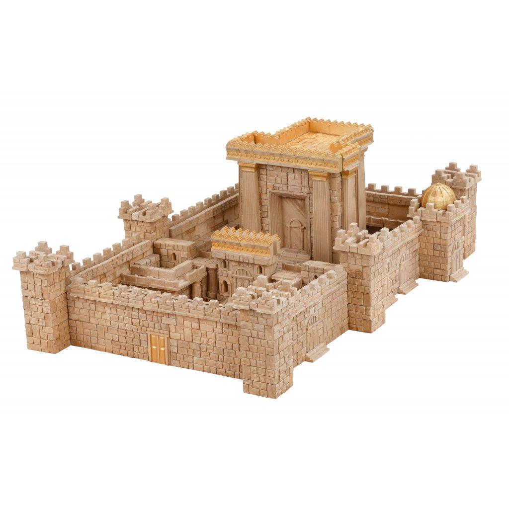 Cihličková stavebnice JERUZALÉMSKÝ CHRÁM