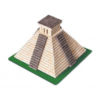 Cihličková stavebnice MAYSKÁ PYRAMIDA