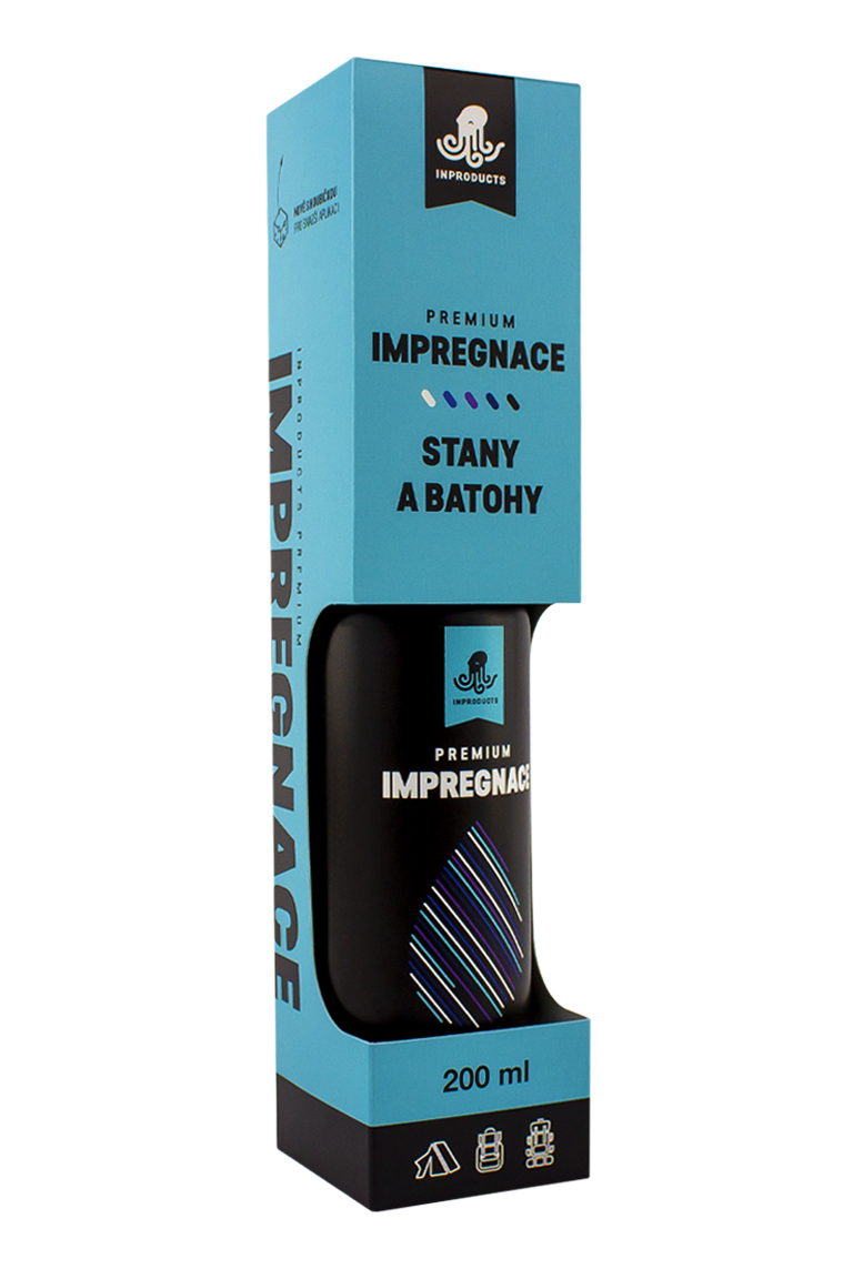 INPRODUCTS Impregnace na stany a batohy 200 ml
