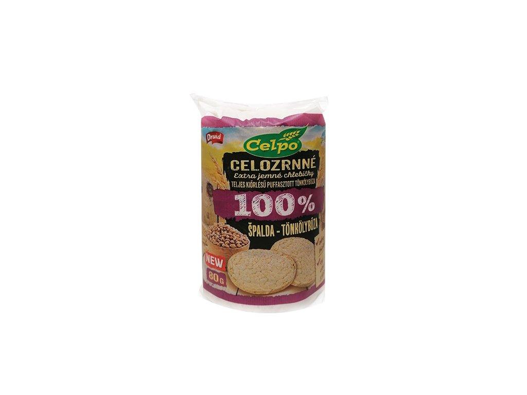 Spaldove celozrnne chlebíky Celpo