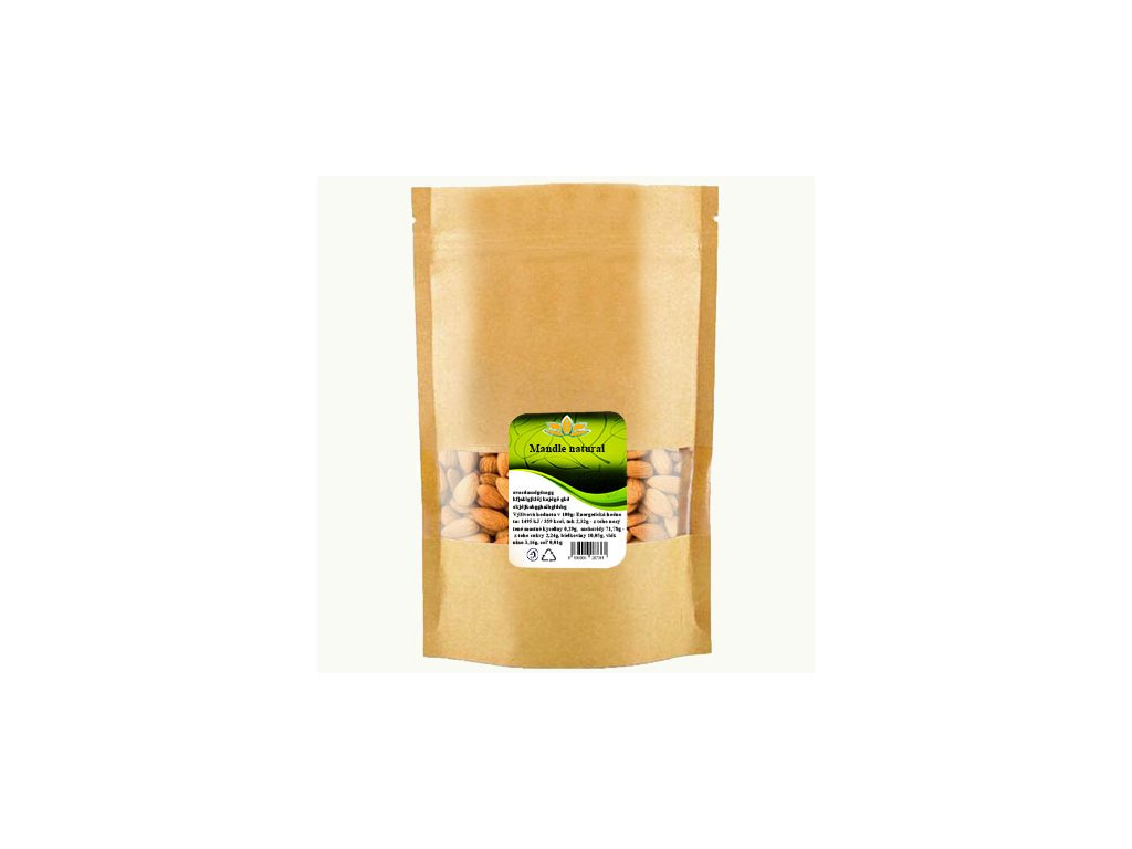 Mandle natural 250g doypack