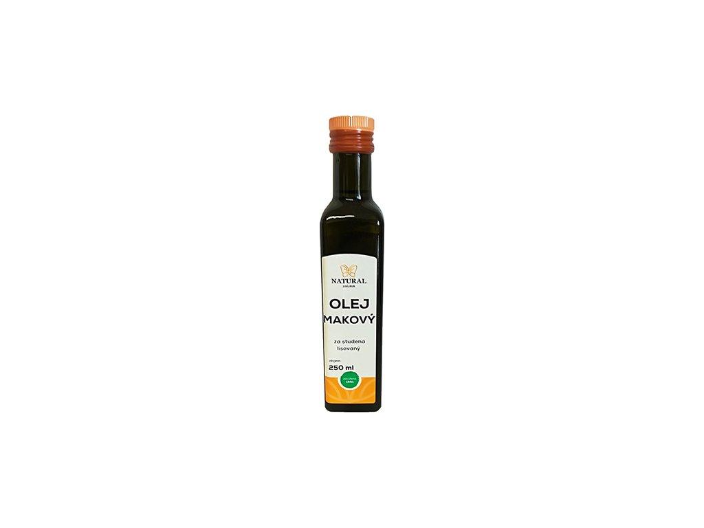 Makový olej 250ml natural jihlava