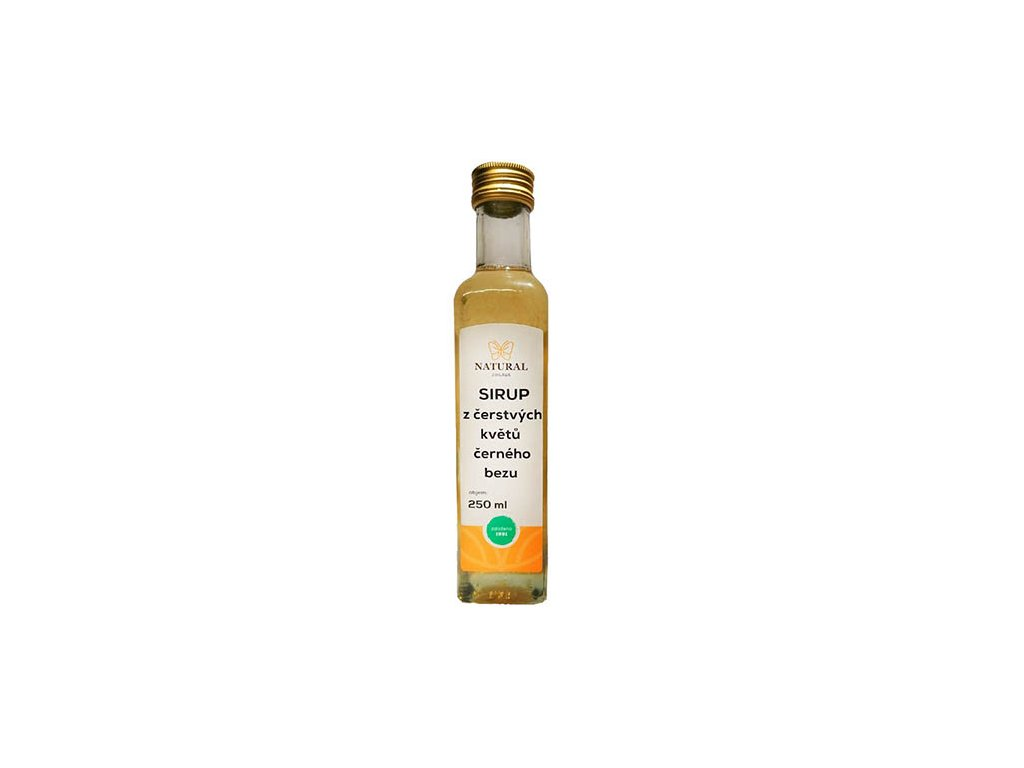 Bazový sirup 250ml natural jihlava