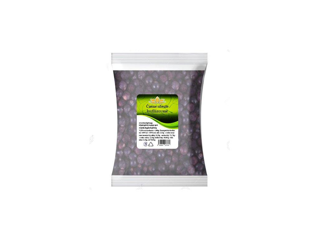 Čierne ríbezle lyofilizované