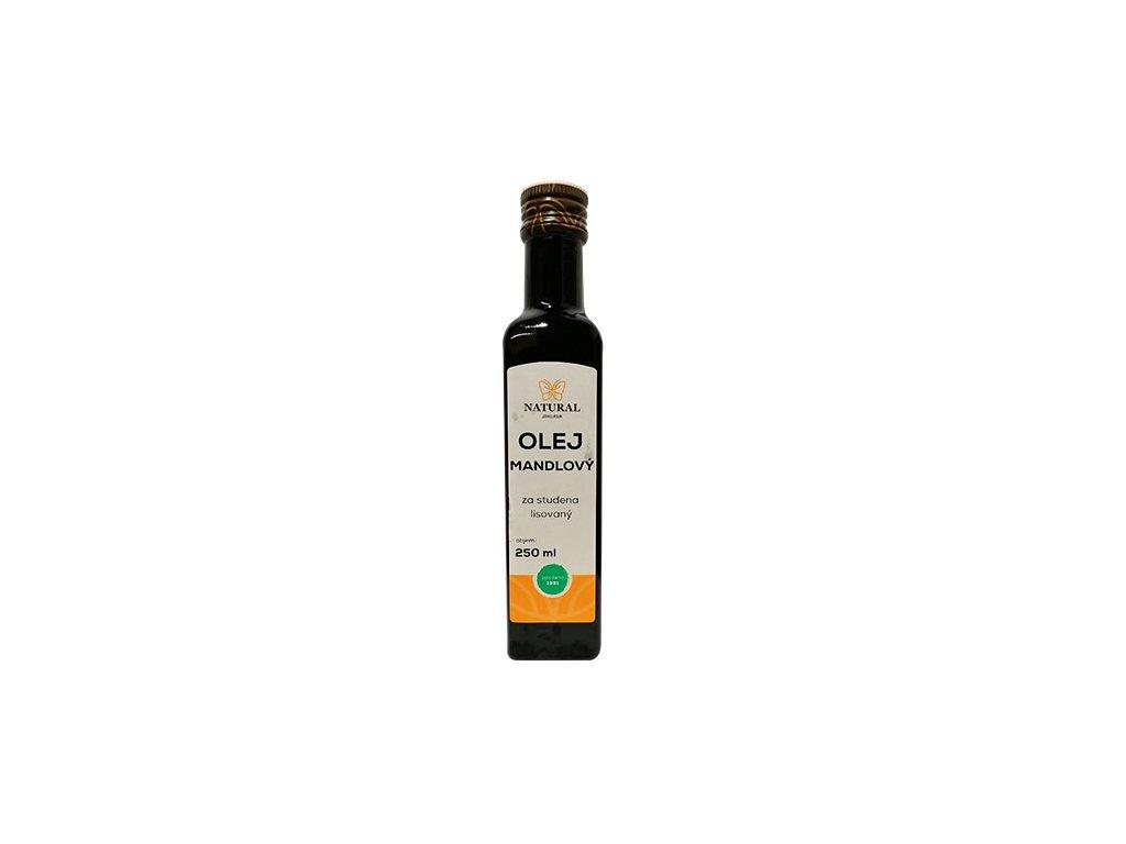 Mandlovy olej 250ml natural jihlava